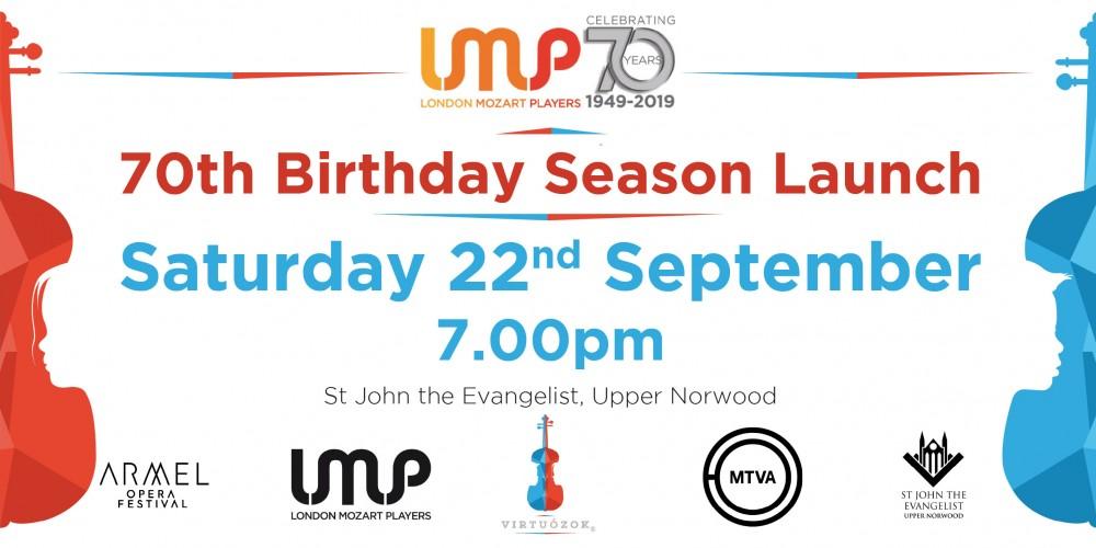 LMP 70th Birthday Season Launch