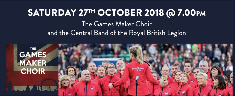 The Games Maker Choir and the Central Band
