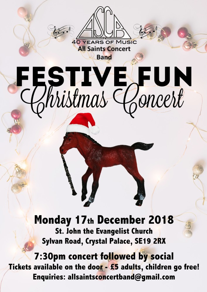 All Saints Concert Band Christmas Concert