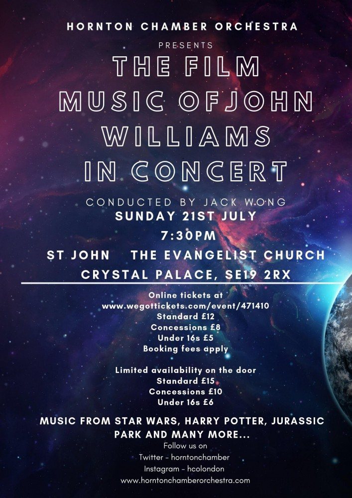 The Film Music of John Williams in Concert