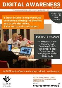 Digital Awareness Course @ Church Hall